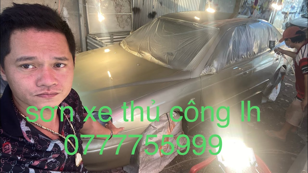 công nghệ thủ công … SƠN oto  tại pháp anh đồng nai  lh 0777755999