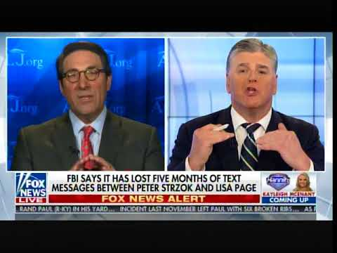 Trump Attorney: Strzok-Page Text Messages Show Comey Lied Under Oath - Committed Felony