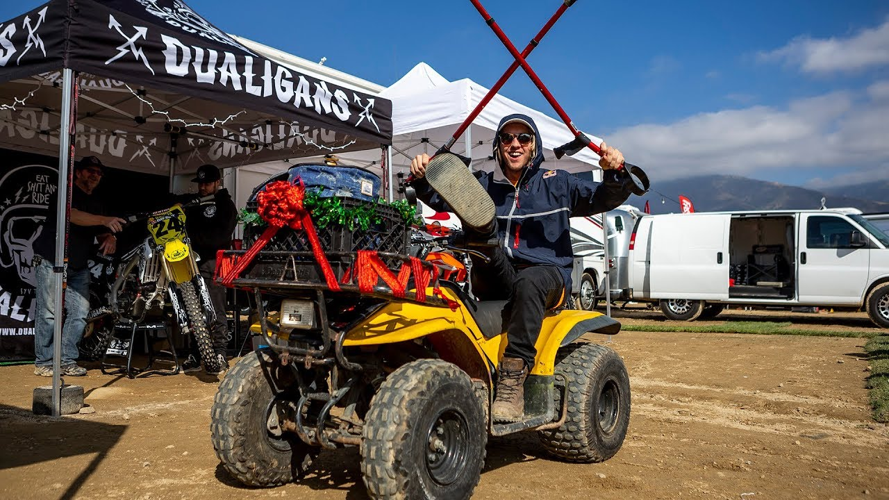 Racer X Films 2018 Red Bull Day In The Dirt Pit Roaming