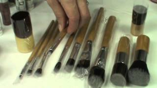 Eco Minerale Brush Set 12-delig van Pavèz Thumbnail