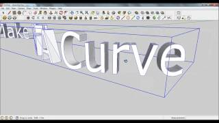 Video Sketchup Pro 8 - Bending 3D text along a path download MP3, 3GP, MP4, WEBM, AVI, FLV Desember 2017