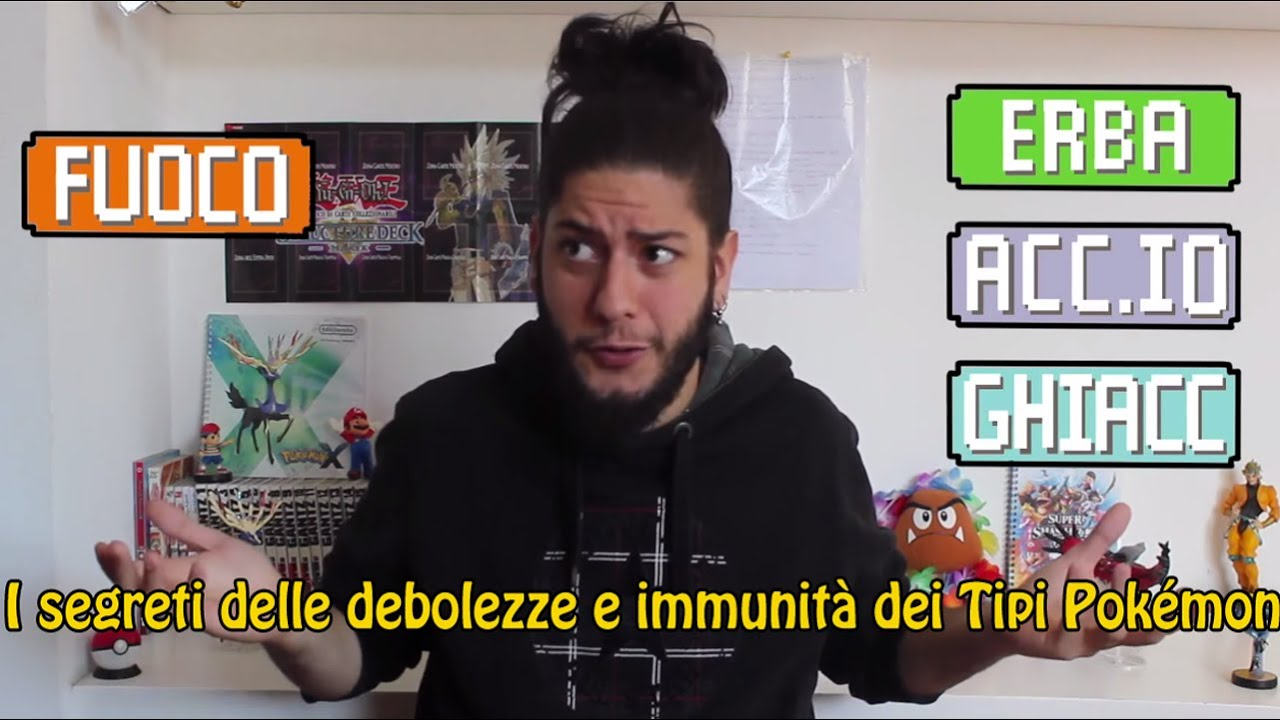 I Segreti Di Debolezze E Immunità Dei Tipi Pokémon Youtube