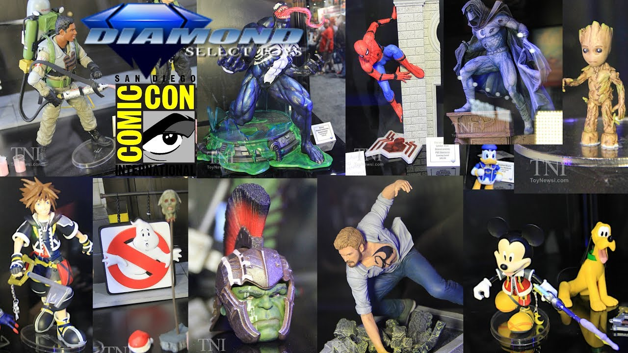 Diamond Select Toys San Diego Comic Con 2017 Reveals SDCC