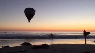 Cardiff by the Sea Hot Air Balloon Crash into the Ocean