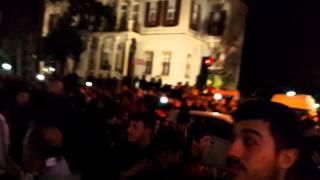 Samsunsporumuz - Gaziantep BŞB maç sonrası Çiftlik caddesi
