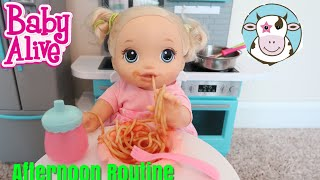 BABY ALIVE Afternoon Routine Collab With Missy Moo