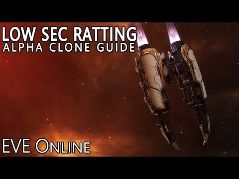 EVE Online Amarr Alpha Clone Guide to Low Sec Ratting