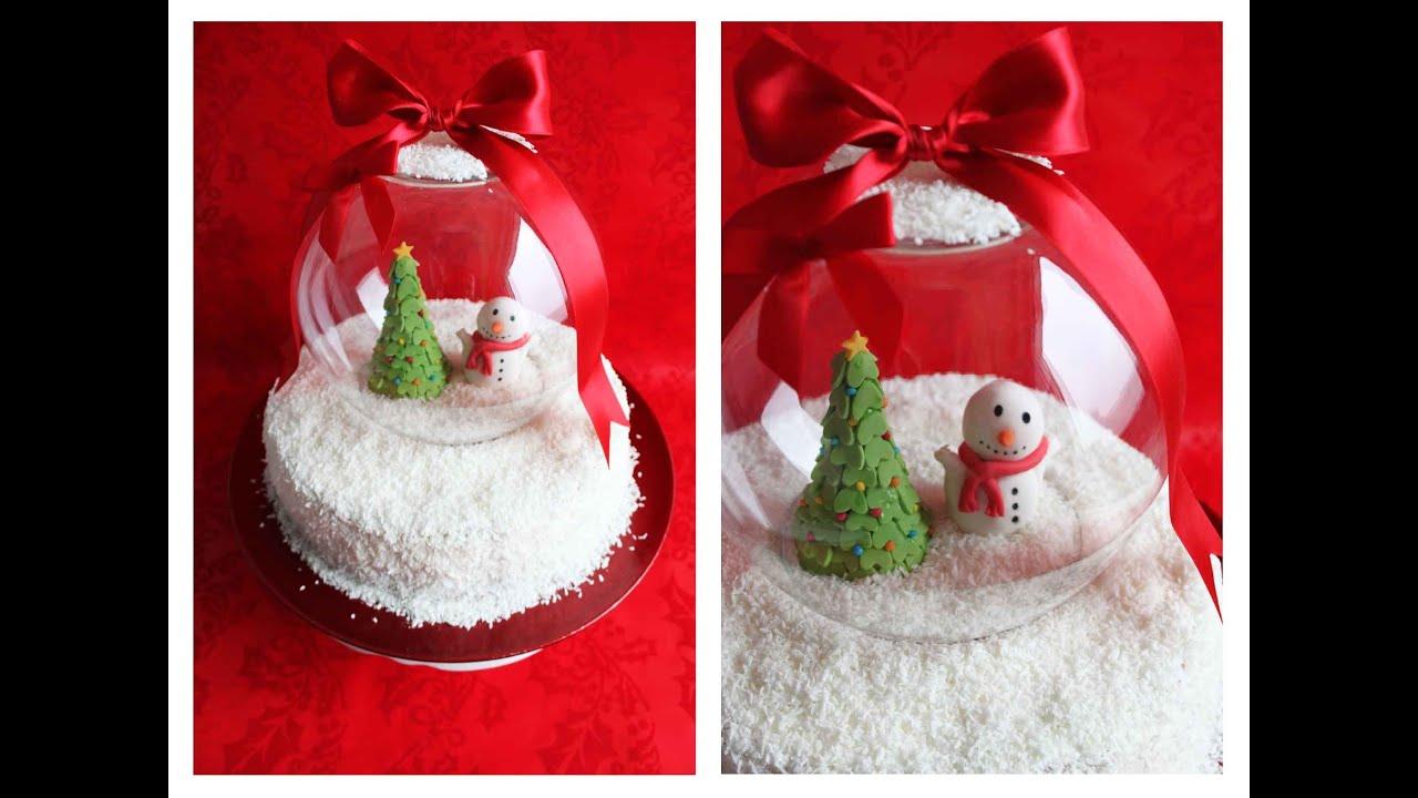 weihnachts schneekugel raffaello torte danis cupcakes. Black Bedroom Furniture Sets. Home Design Ideas
