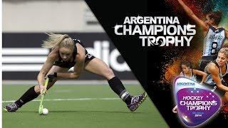 New Zealand vs Australia - Women's Hockey Champions Trophy 2014 Argentina Semi Final 1 [06/12/2014]