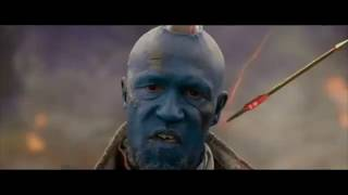 Yondu All Arrow And Fight Scenes  Guardians Of The Galaxy