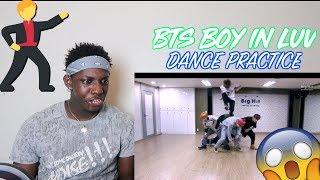 방탄소년단 '상남자(Boy In Luv)' dance practice - REACTION