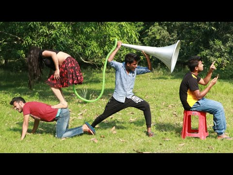 Very Funny Stupid Boys_New Comedy Videos 2020_Episode 69_ By Funkivines
