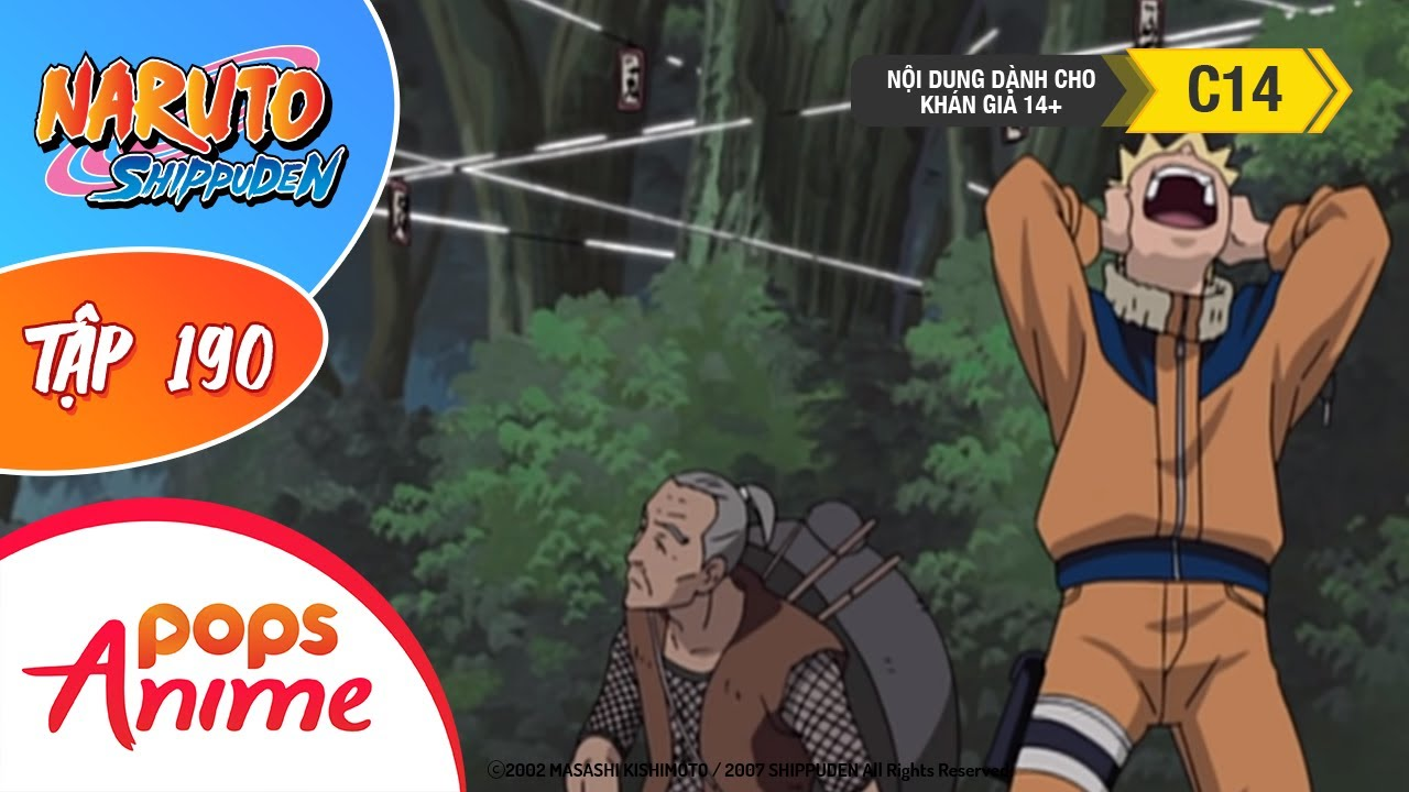 Naruto Shippuden Tập 190 - Lịch Sử Của Làng Lá - Naruto Và Lão Ninja - Trọn Bộ Naruto