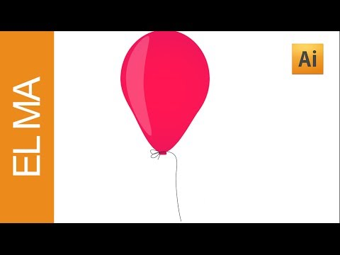 Illustrator Tutorial || Balloon Illustration || HD || Happy New Year
