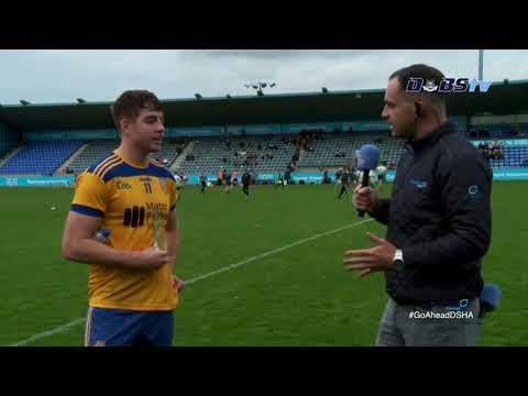 Na Fianna's Dónal Burke chats to DubsTV after Quarter Final victory over St Judes