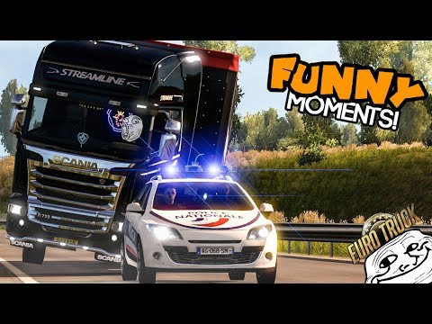 Euro Truck Simulator 2 Multiplayer Funny Moments & Crash Compilation #51