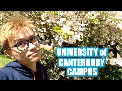 Spring Tour Around the University of Canterbury Campus   MBXD [Vlog #8]