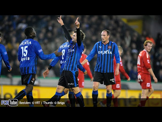 2008-2009 - Jupiler Pro League - 10. Club Brugge - KV Kortrijk 4-1