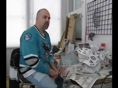 Making Vintage Hockey Goalie Masks In Montreal Youtube