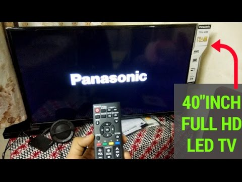 Unboxing & Review Of PANASONIC 40 inch FHD LED TV | Panasonic TH-40D200DX | Best LED Tv Under 30k