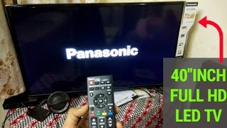 "Unboxing & Review Of PANASONIC 40"" inch FHD LED TV 