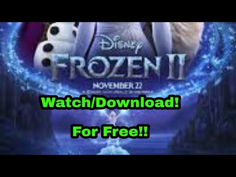 Download How to Download Frozen 2 (100%FreeWorking)