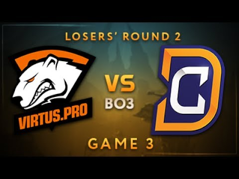 Virtus.pro vs Digital Chaos Game 3 - Dota Summit 7: Losers' Round 2