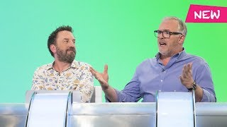 Greg Davies' milky cow! - Would I Lie to You?