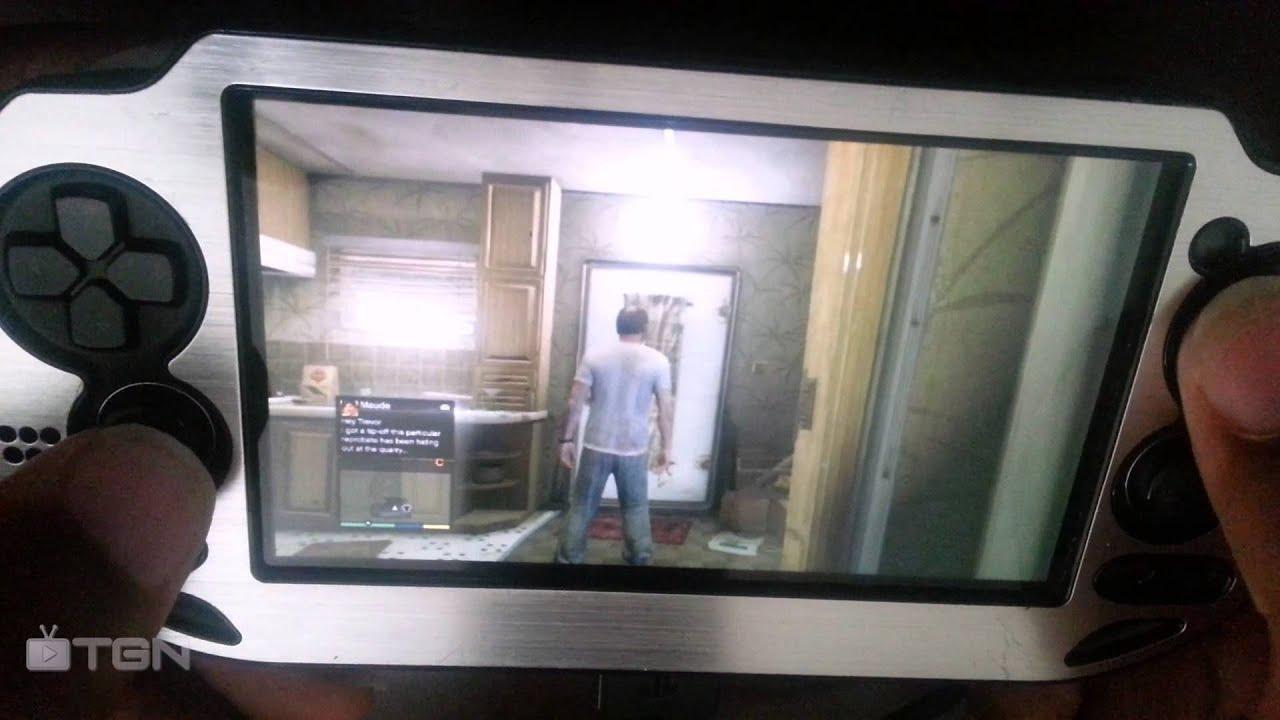 Playstation Vita Gta 5 : Gta v gameplay on ps vita youtube