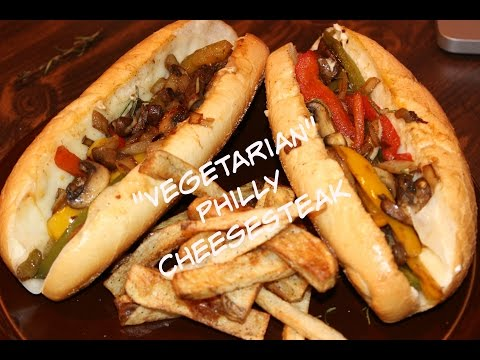 Vegetarian Philly Cheese Steak Recipe..