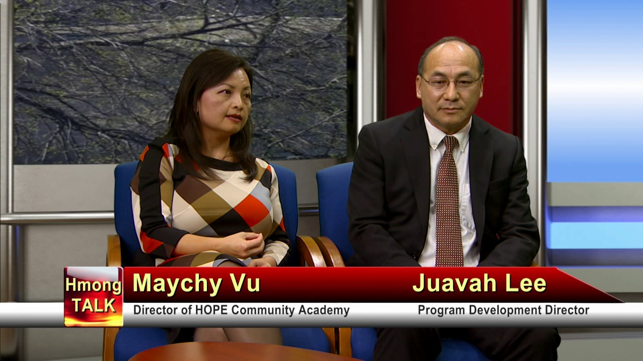 HMONGTALK: Meet the Director of HOPE Community Academy, a Hmong charter school in St. Paul.