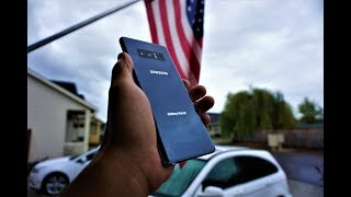 Note 8 Hands On Review | Samsung Galaxy Note 8 64 GB Cell Phone + S-Pen + 12 MP Duel Pixel Sensor