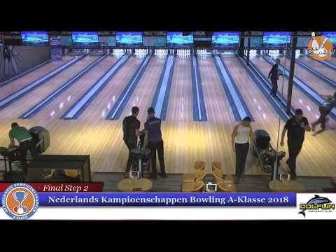 Dutch National Championships of Bowling 2018 (Top 10)