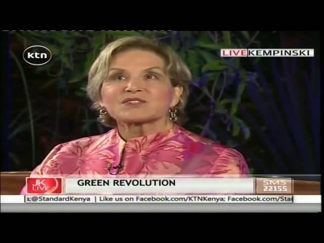 JKL: Green Revolution,AGRF-Agnes Kalibata, Rockefeller-Judith Rodin, September 7th 2016 Part 2