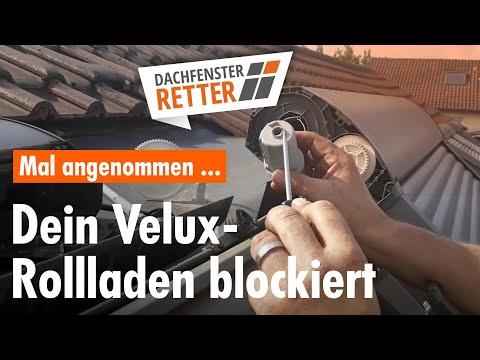 VELUX Rollladen läuft nicht mehr - Dachfenster-Retter