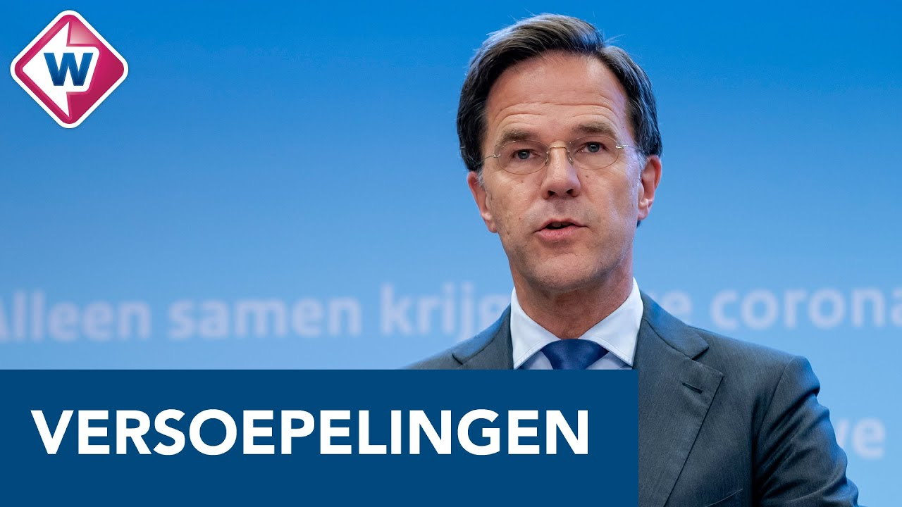 Persconferentie Mark Rutte En Hugo De Jonge Over De