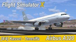 Microsoft Flight Simulator X Teil 957 Kassel - Teneriffa | Sund Air A320 | deutsch | Liongamer1