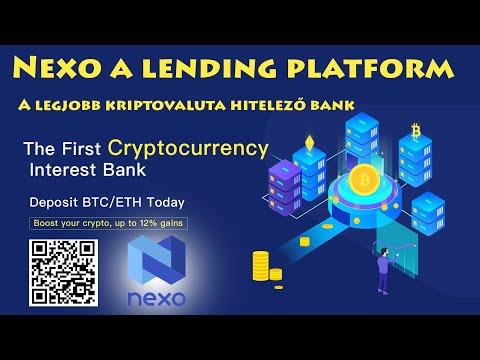 Nexo Lending Platform bemutató  -  Okos Hitel ,Passziv Jövedelem