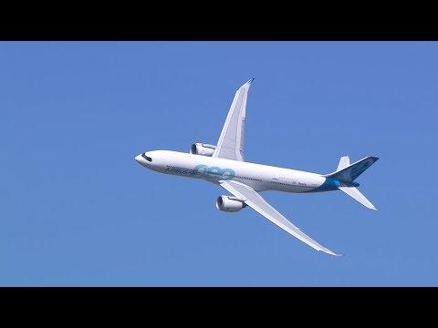 LA330neo vit son premier Bourget en vol