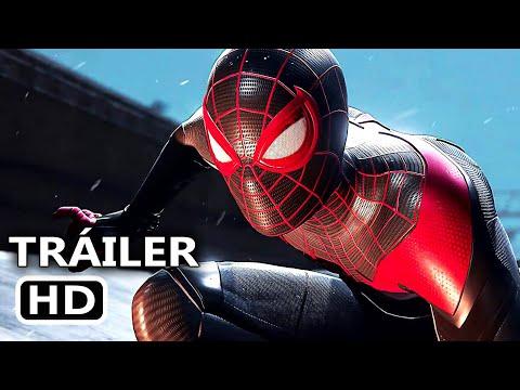 SPIDER MAN 2 MILES MORALES Tráiler Gameplay 4K (2020) Nuevo PS5, Marvel Videojuego