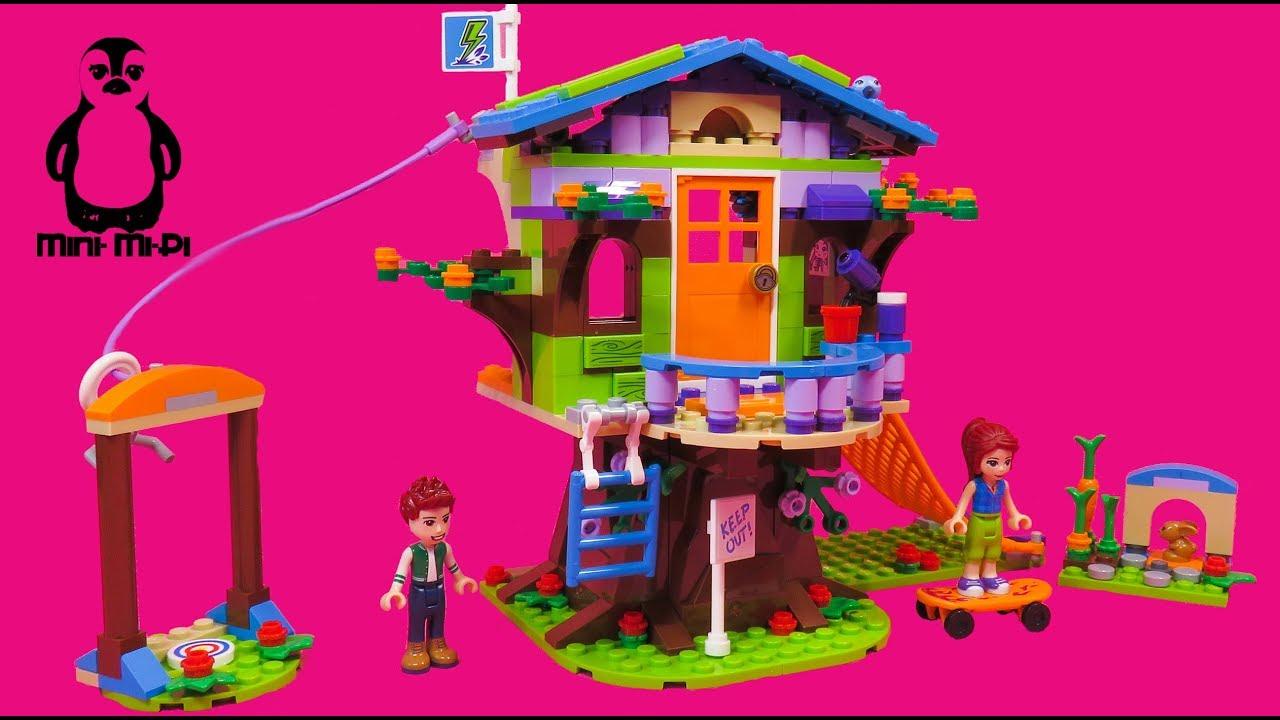 Lego Friends 41335 Mias Baumhaus Mias Tree House Speed Build
