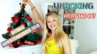Rituals Adventskalender 2018 UNBOXING aller Geschenke! Ist der Wert wirklich 140 Euro? 🤔