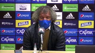 Rueda de prensa de Millonarios tras su victoria contra Alianza Petrolera