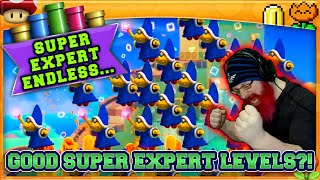 GOOD LEVELS IN SUPER EXPERT?! | Super Mario Maker 2 Super Expert No Skip with Oshikorosu! [81]