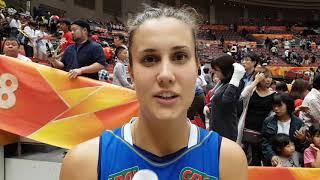 Mondiali Femminili 2018: Anna Danesi dopo Italia-Giappone 3-2
