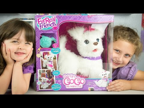 FurReal Friends Get Up & GoGo My Walkin' Pup Toy Dog Review