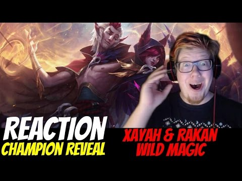 Xayah and Rakan: Wild Magic REACTION | Interruption by cat