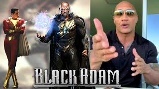 Zapętlaj Official Dwayne Johnson Announces Black Adam Filming Start, Congratulates Shazam. | Alicia Ke_reviews