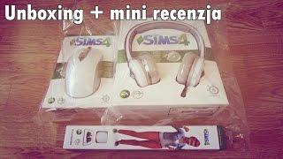 Unboxing + mini recenzja: sluchawki, myszka i podkladka The Sims 4 firmy Steelseries