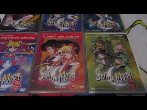 My Sailor Moon DVD Collection